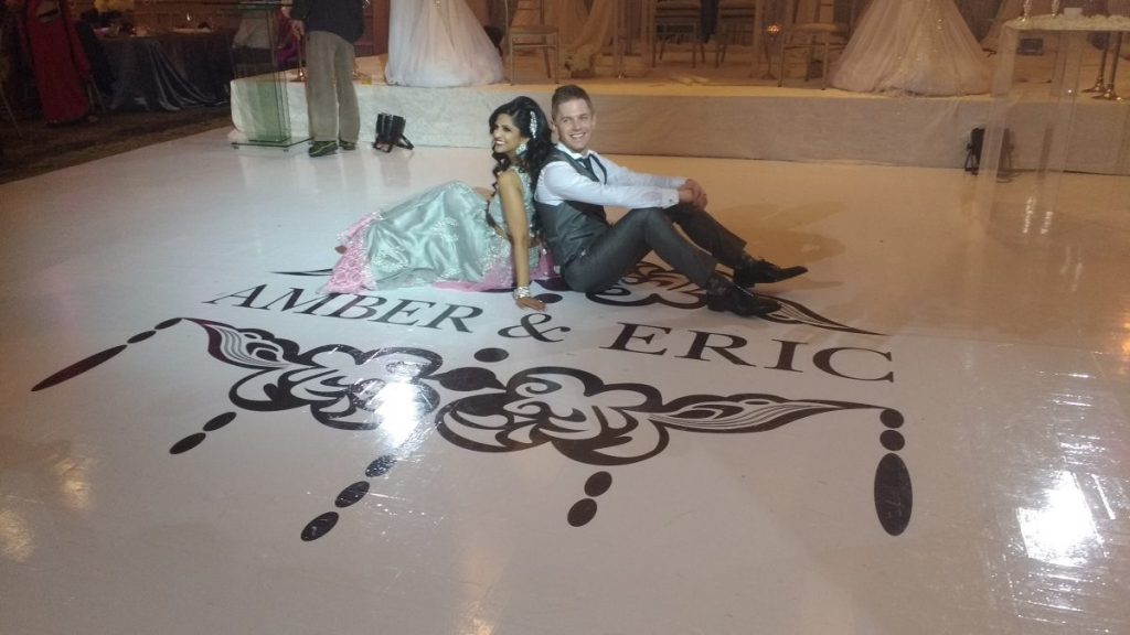 Toronto Wedding Dance Floor Decor