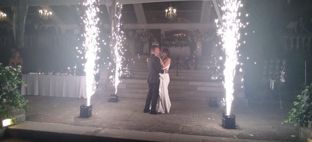 Read more about the article Toronto Wedding Fireworks / Sparklers